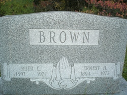 Ruth E. <i>Harnish</i> Brown