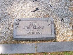 Lula E Granny <i>Fricks</i> Strickland