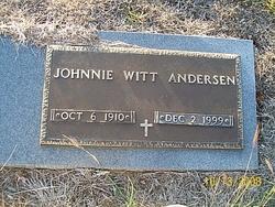 Johnnie <i>Witt</i> Andersen