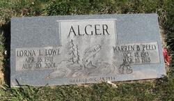 Lorna L. <i>Lowe</i> Alger