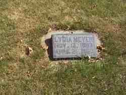 Lydia Marie <i>Steinbeck Ayres</i> Meyer