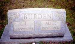 Alice <i>Beasley</i> Burden