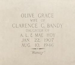 Olive Grace <i>Hoy</i> Bandy
