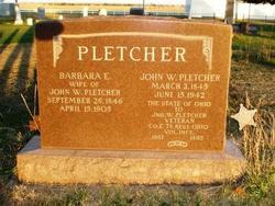 John W Pletcher