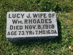 Lucy Jane <i>Snapp</i> Rhoades