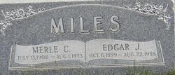 Edgar J. Miles