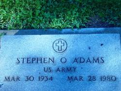 Stephen O. Adams