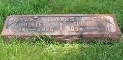 Olive Ollie <i>Wier</i> Davis