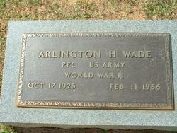 Arlington H. (Billy) Wade
