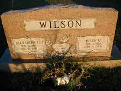 Helen Marie <i>Amyx</i> Wilson
