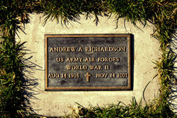 Sgt Andrew A. Richardson