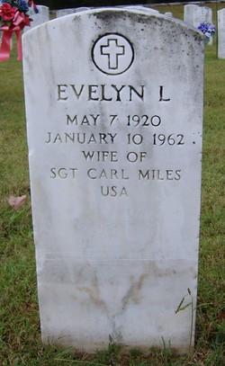Evelyn Lynn <i>Fitzhugh</i> Miles