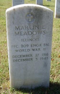 Marlin E Meadows