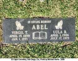 Virgil T Abel