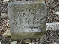Mary Jane <i>King</i> Gibson