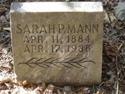 Sarah P. <i>Gibson</i> Mann