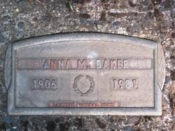 Anna Marie <i>Pietz</i> Baker