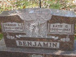 Catherine Genevieve Katie <i>Albert</i> Benjamin