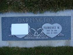 Florence Mary <i>Mounter</i> Darlington