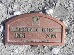 Yancey C Eells