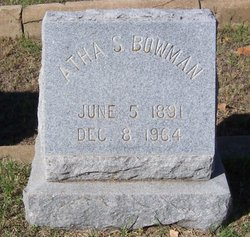 Atha S Bowman