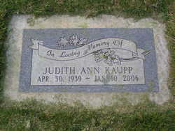 Judith Ann <i>Avey</i> Kaupp