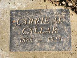 Carrie M. Callar