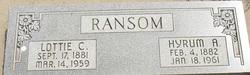 Hyrum A. Ransom