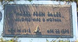 Hazel Fern <i>Carmichael</i> Bales