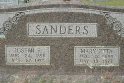 Mary Etta Sanders