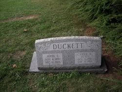 Carrie K <i>Fox</i> Duckett