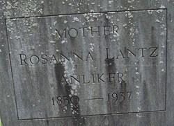 Rosanna <i>Lantz</i> Anliker