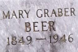 Mary <i>Graber</i> Beer
