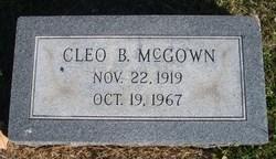 Cleo B. McGown