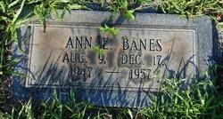 Ann Elizabeth Banes