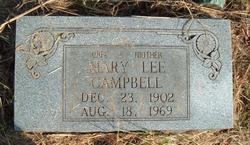 Mary Lee Campbell