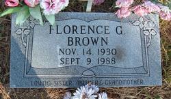 Florence G. Brown