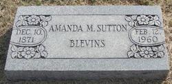 Amanda M. <i>Sutton</i> Blevins