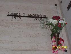 Eunice Zelma <i>Lindley</i> Anderson