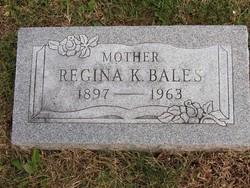 Regina Katherine <i>Spanier</i> Bales