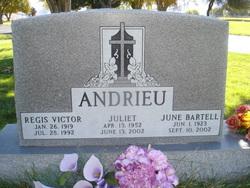 June Evelyn <i>Bartell</i> Andrieu