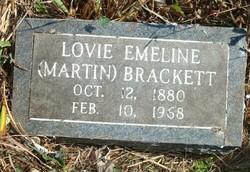 Lovie Emeline <i>Martin</i> Brackett
