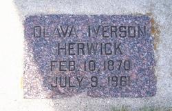 Olava <i>Iverson</i> Herwick