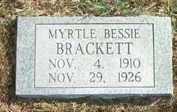 Myrtle Bessie Brackett