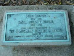 Sarah <i>Burkett</i> Hoover