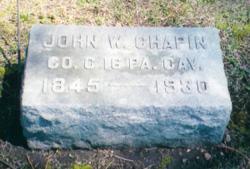John William Chapin, Jr