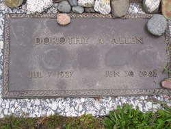 Dorothy Ann <i>Young</i> Allen