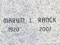 Marvin L Ranck