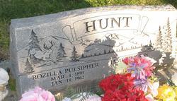 Rozilla <i>Pulsipher</i> Hunt