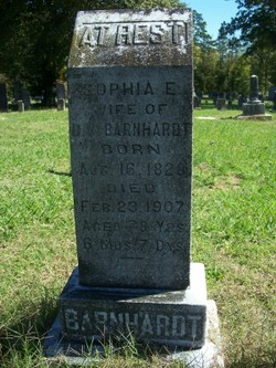 Sophia Elizabeth <i>Hartsell</i> Barnhardt